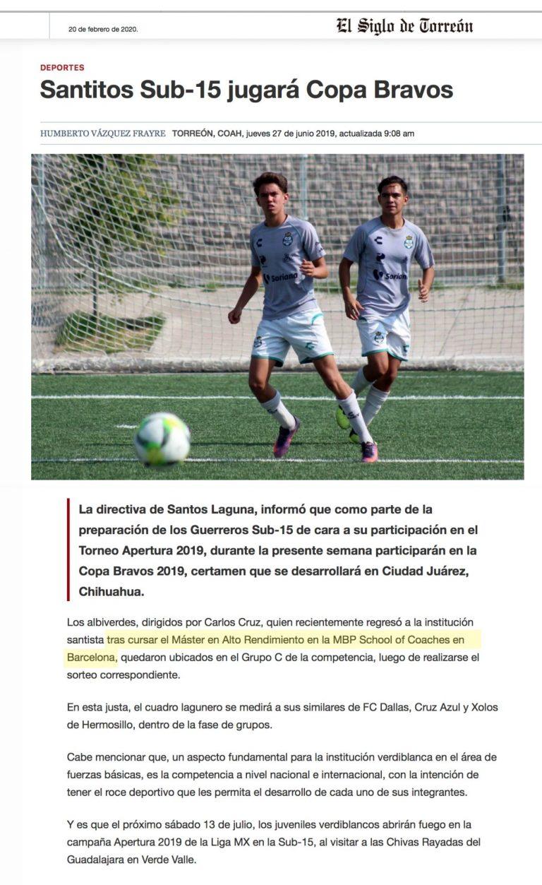 2020 02 16 El Siglo de Torreon Santos Laguna scaled 1 Salle de presse MBP