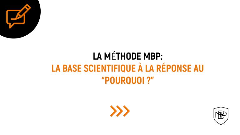 El por qué dentro del Método MBP I am MBP MBP